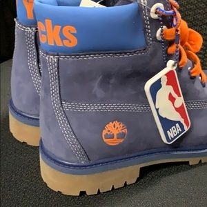 Timberlands   New York Knicks limited edition